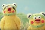 【動画有り】ポインコ新CM「とりかえるの歌」今度はカエルの歌!